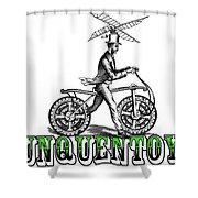 Junquentoys Bike-o-vator Shower Curtain