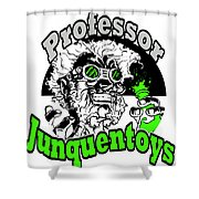 Junquentoys Circular Logo Shower Curtain