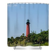 Jupiter Florida Shower Curtain