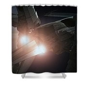Jupiter Patrol  Shower Curtain