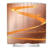Jupiter Wrapped Around My Fingers Shower Curtain