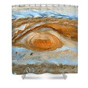 Jupiterian Storm Of The Century Shower Curtain