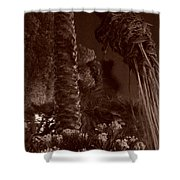 Juraissic Palm Number 1 Shower Curtain