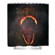 Jurassic Terror Shower Curtain