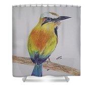 Juruva Bird Shower Curtain