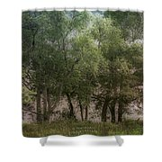Just A Few Trees Shower Curtain