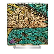 Just A Fish Shower Curtain