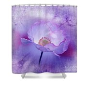 Just A Lilac Dream -3- Shower Curtain by Issabild -
