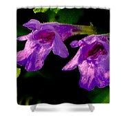 Just A Little Wild Flower Shower Curtain