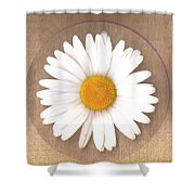 Just A Lonely Flower On Canvas Shower Curtain