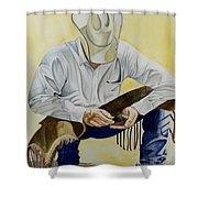 Just A Pinch Shower Curtain