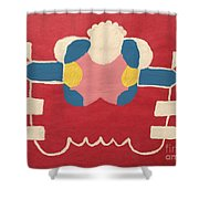 Just A Red Design Shower Curtain