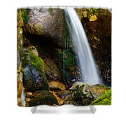 Just A Very Small Waterfall II Shower Curtain