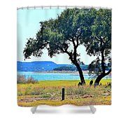 Just A Wonderful Day Shower Curtain