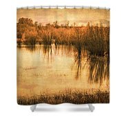 Just After Dawn Shower Curtain