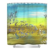 Just Another Damask In Paradise Shower Curtain