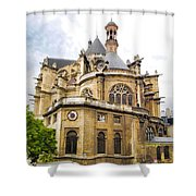 Just Another Paris Cathedral Shower Curtain