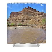 Just Around The River Bend 7 Shower Curtain