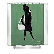 Just Work Shower Curtain