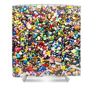 Just Beads Shower Curtain