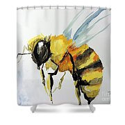 Just Beecause Shower Curtain