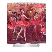 Just Dancing Shower Curtain