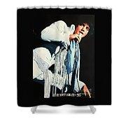 Just Elvis Shower Curtain