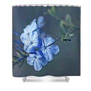 Just Feeling Blue Shower Curtain
