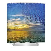 Just Fishin Shower Curtain