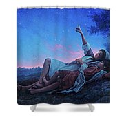Just For A Moment Shower Curtain