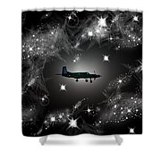 Just For Fun Through The Stars Shower Curtain
