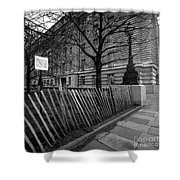 Just Lines And Forms Shower Curtain