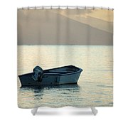 Just Off Molokai Shower Curtain