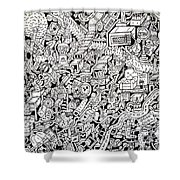 Just One Night Shower Curtain