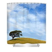 Just One Tree Hill Shower Curtain