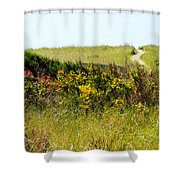 Just Over The Hill Shower Curtain