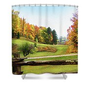 Just Over The Next Ridge Shower Curtain