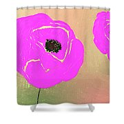 Just Pink Shower Curtain