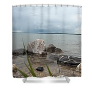 Just Rocks Shower Curtain