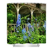 Just The Blues Shower Curtain