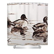 Just The Two Of Us Shower Curtain