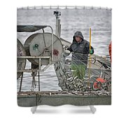 Just Travlin Too Shower Curtain