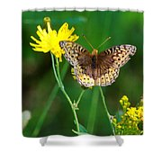 Just Us Flowers Shower Curtain