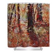 Just Waking Shower Curtain