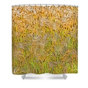 Just Wheat Shower Curtain