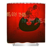 Justice For Jazz Artists Shower Curtain