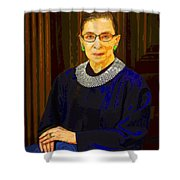Justice Ginsburg Shower Curtain