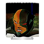 Justice League Doom Shower Curtain