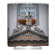 Justice Of Wittenberg Shower Curtain
