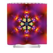Jyoti Ahau 215 Shower Curtain